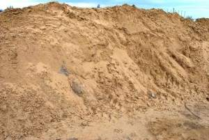 predaj ťaženeho piesku