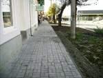 Zámkové dlažby Semmelrock Nardo sivá, obrubník parkový